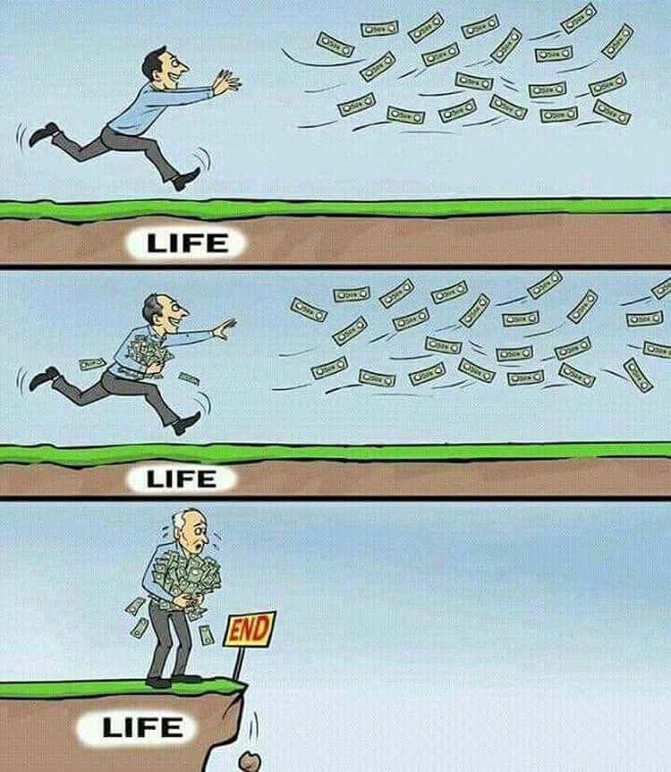Leben Geld Ende
