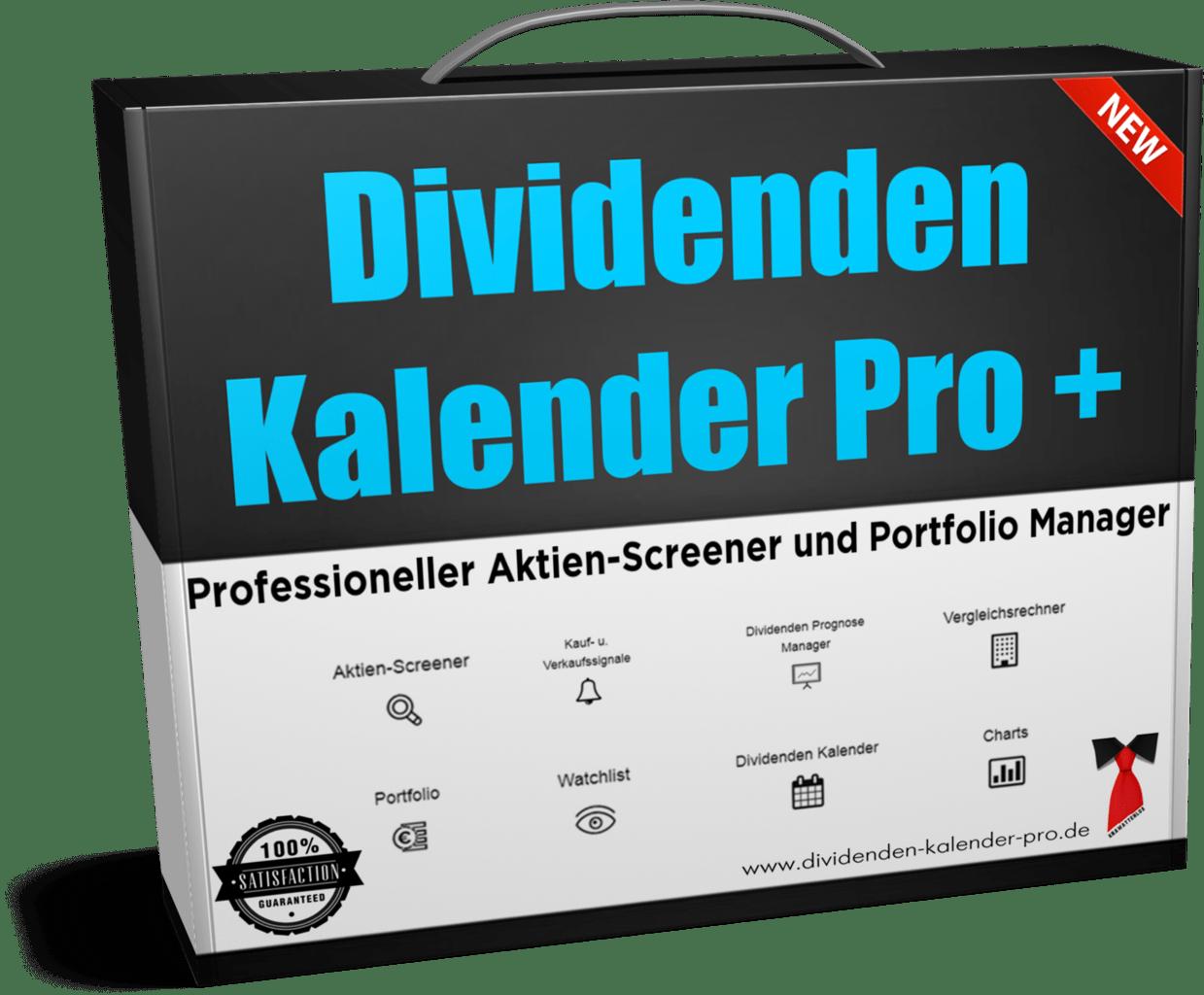 Dividenden Kalender Pro +