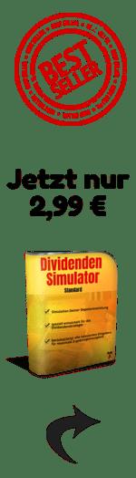 Dividenden Simulator Banner